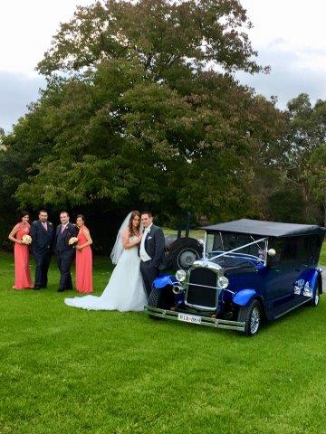 Linley Estate Receptions Wedding Hot Rod Hire - Blue Moon Rods