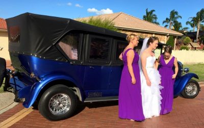 Nathania Springs Wedding Car Hire – Kate and Paul