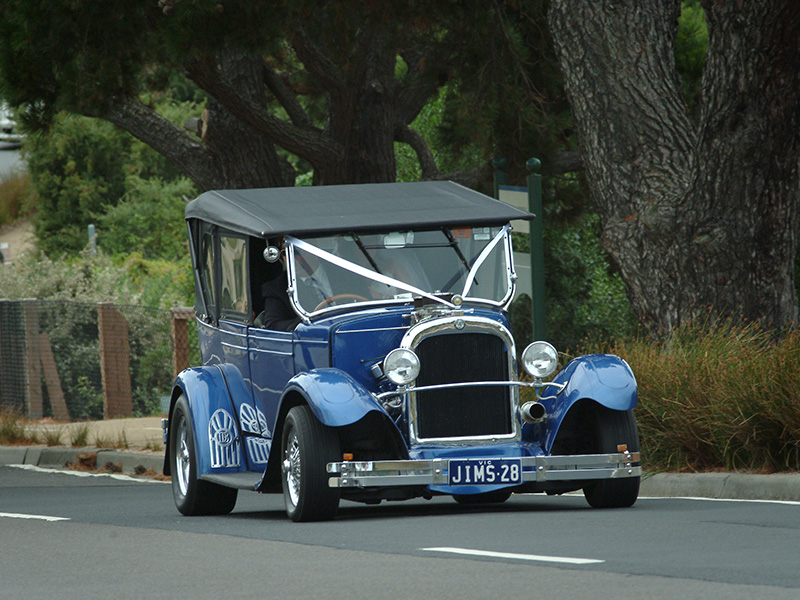 1928 Dodge Sedan Brothers Tourer - Blue Moon Rods