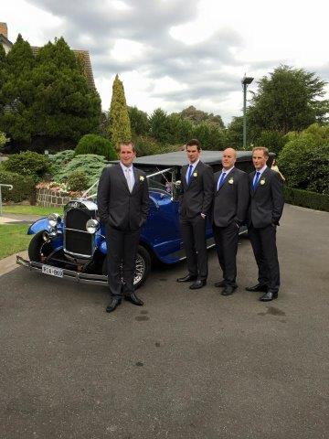 Blue Moon Rods at Ballara Receptions - Wedding Hot Rod Hire Eltham