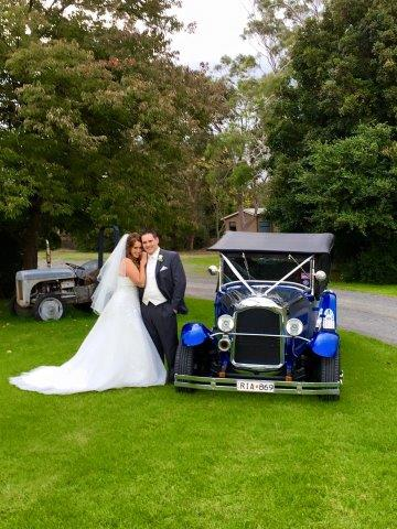 Wedding Hot Rod Hire Melbourne